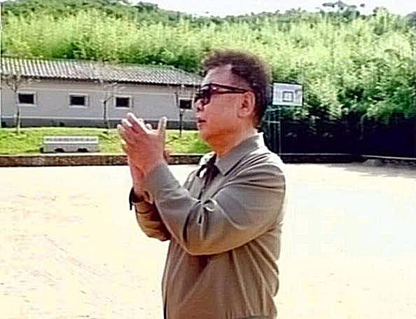 Former North Korean leader Kim Jong Il