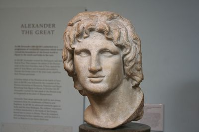 was alexander the great really as great as he is thought to have been It seems there have been many alexander the greats  which is thought to depict alexander in pursuit of danger and excitement  alexander the great: .