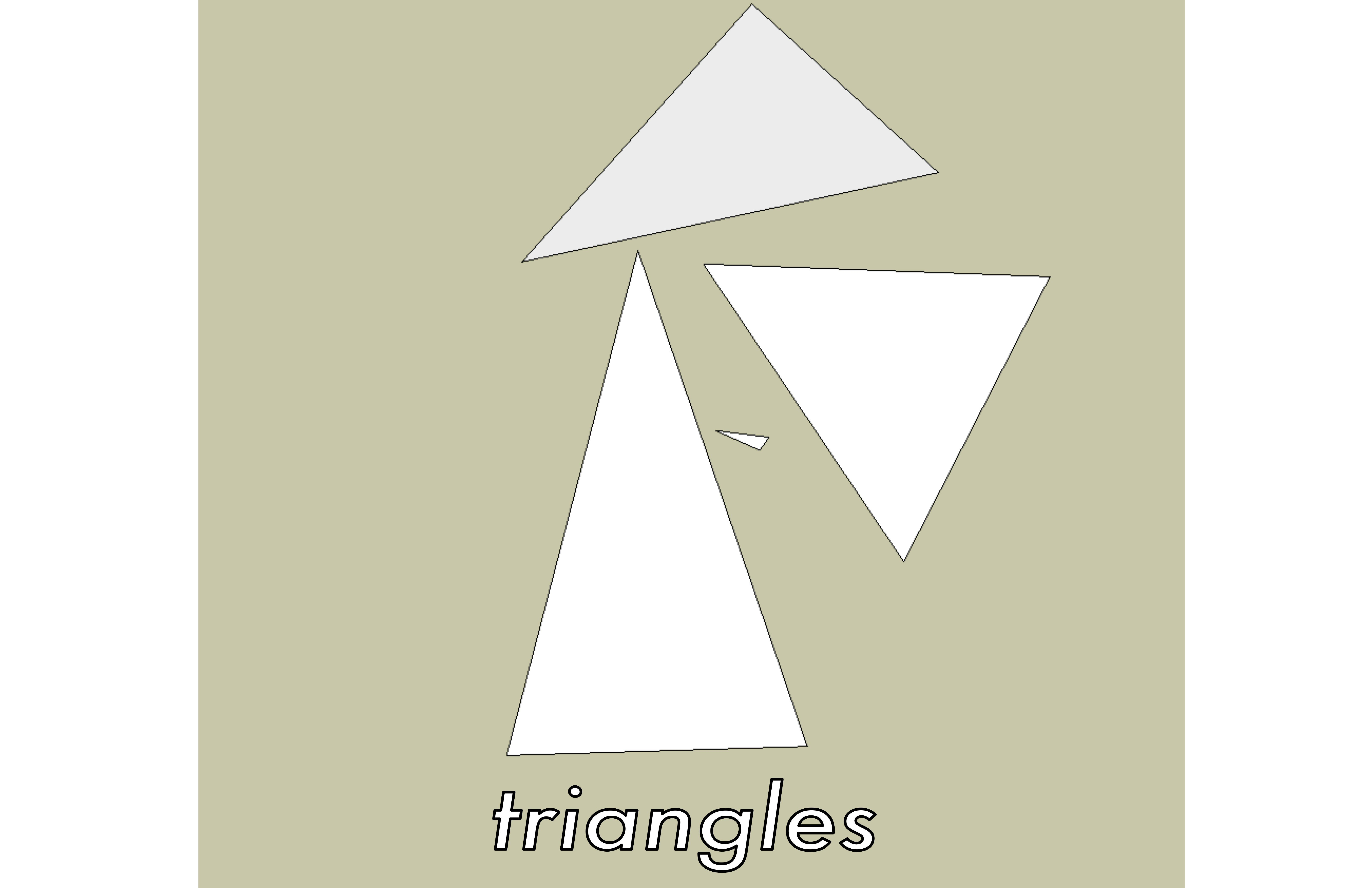 Illustration of triangles.
