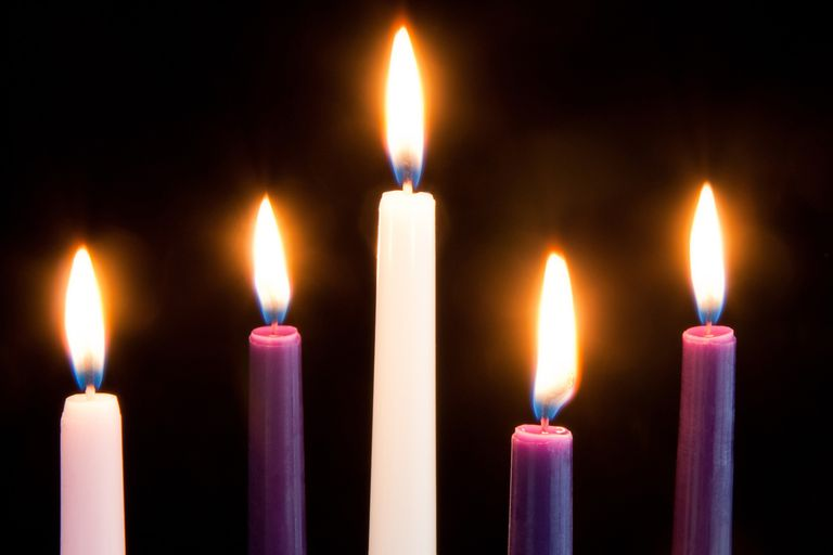 The Advent Candle Colors Are Packed With Rich Meaning