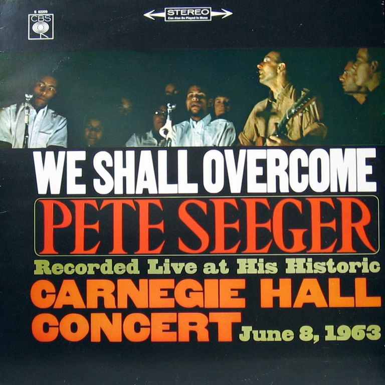 Single cover of We Shall Overcome