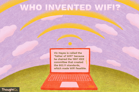 Who invented WiFi, and what made it possible?