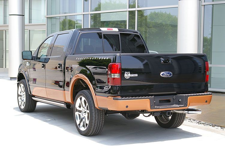 2008 Ford F-150 Harley-Davidson Truck - Pictures of the Ford Harley ...