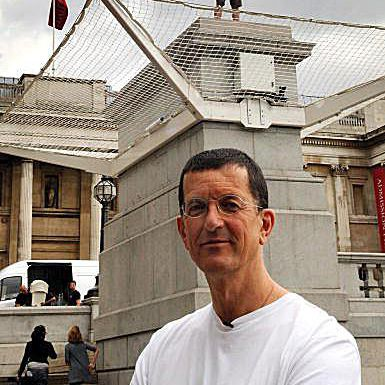 Famous Artists Antony Gormley, creator of the Angel of the North