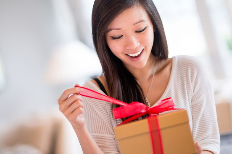learn what to say in english when you give or receive a gift