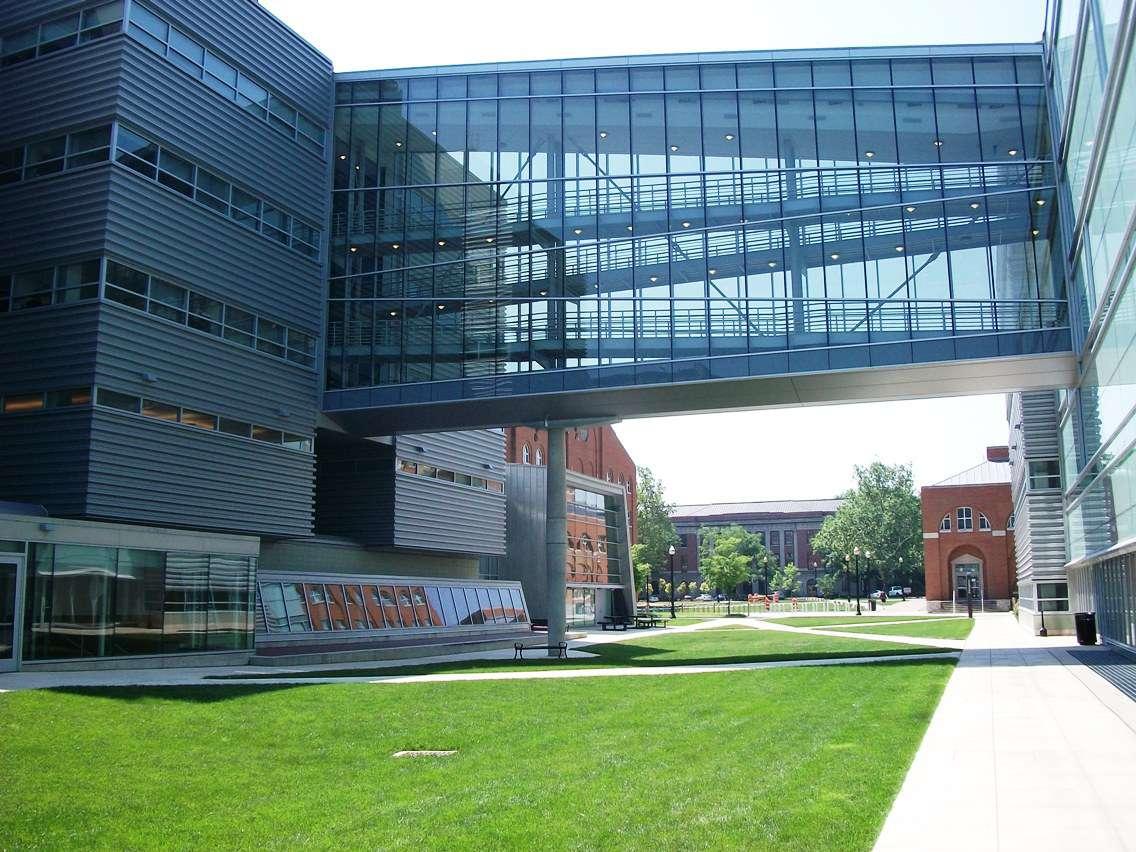 Scott Laboratory at the Ohio State University