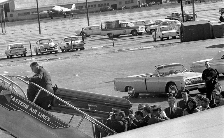 JFK casket