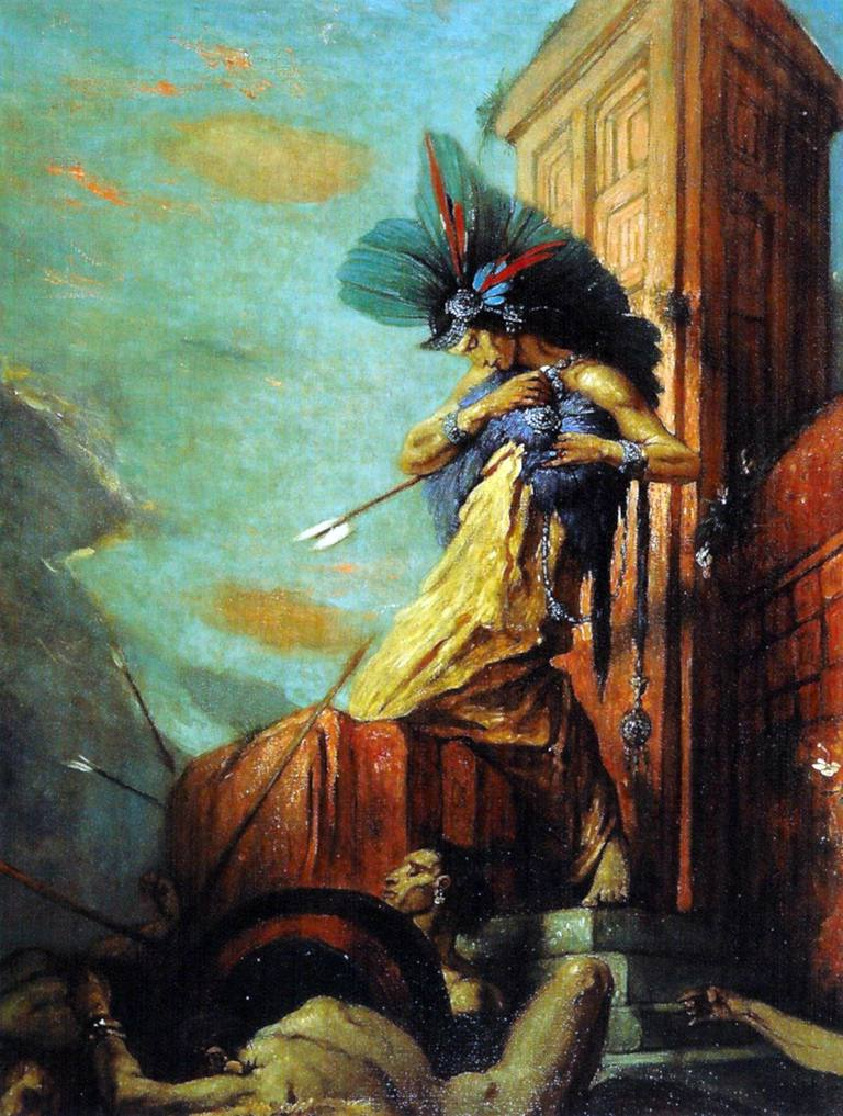 The Death of Montezuma