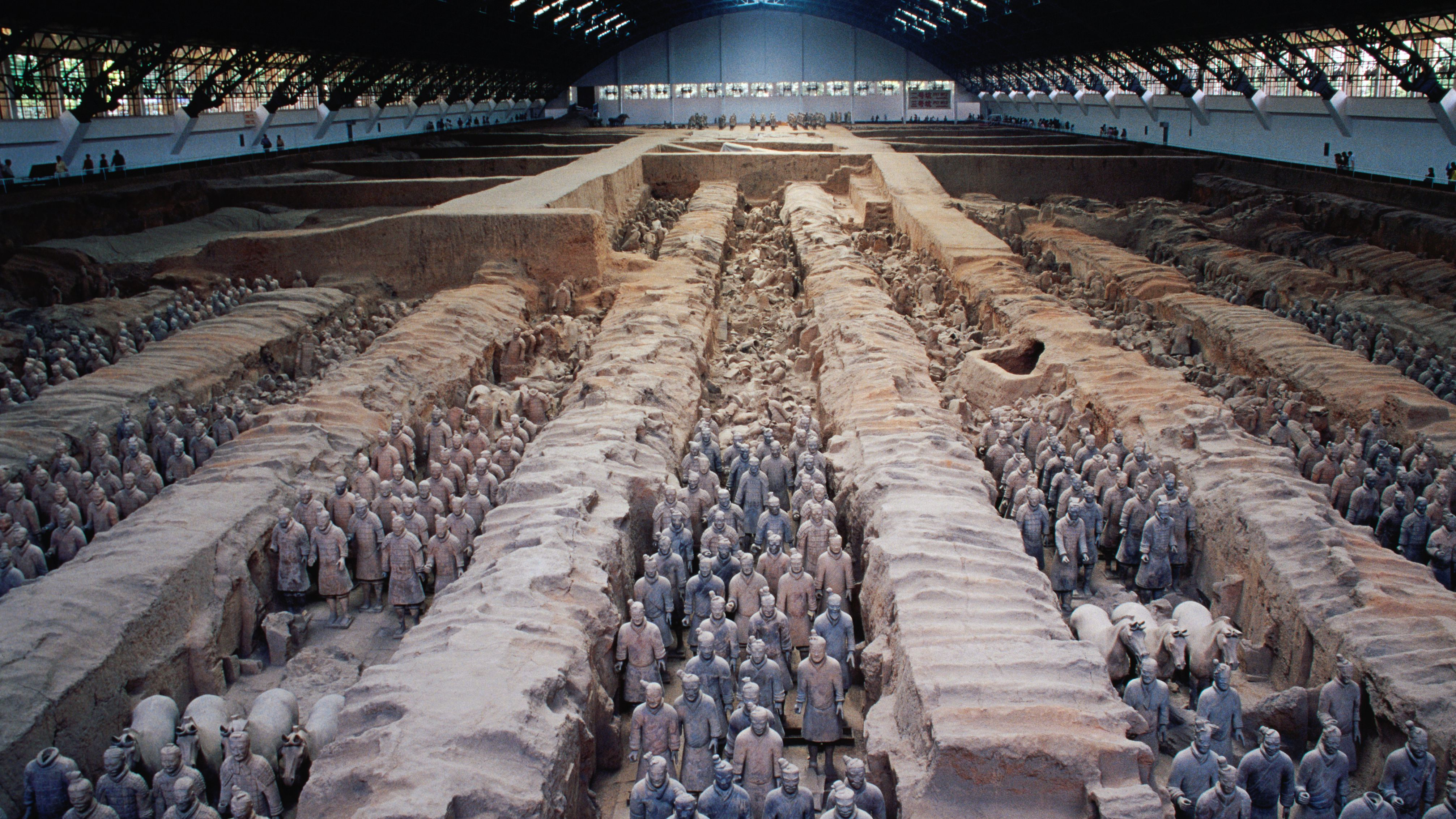 How Emperor Qin's Terracotta Soldiers Were Made