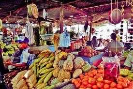 Market in Barranquilla, Colombia