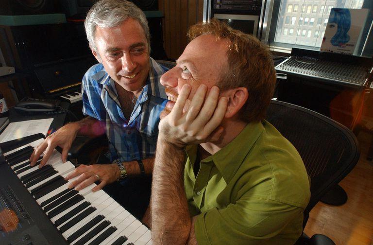 Composer/lyricists Scott Wittman and Marc Shaiman