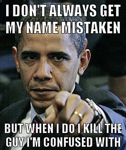 mistaken name