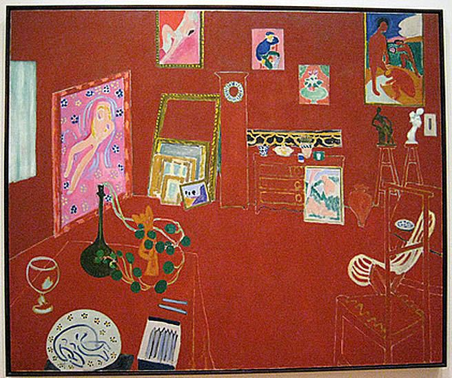 The Red Studio - Henri Matisse