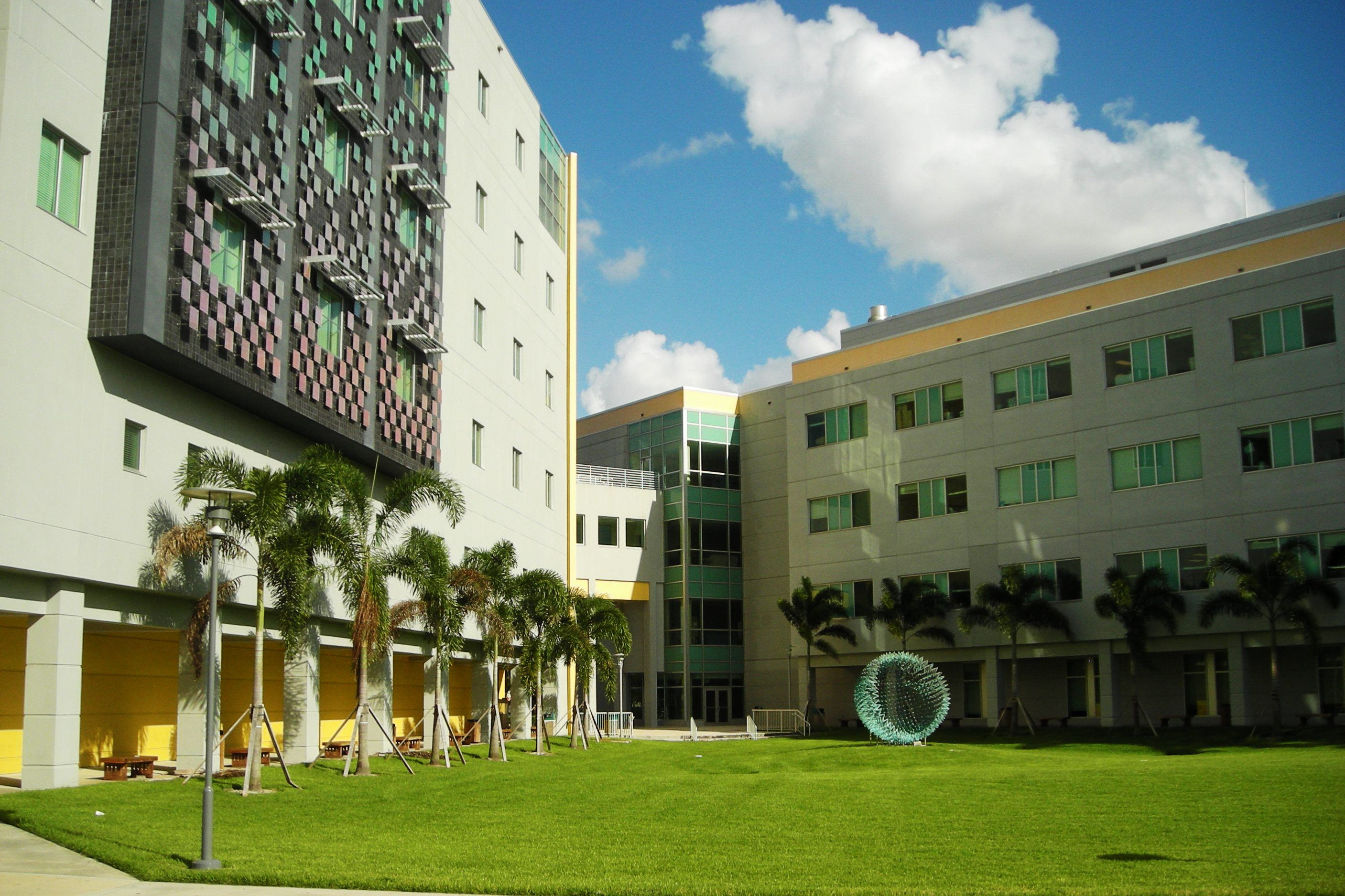 The Health and Life Sciences Buildings at the FIU College of Medicine