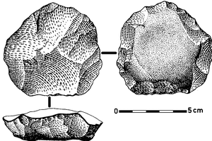 Levallois Core from the Douro Basin, Portugal