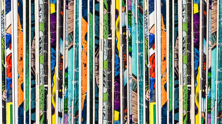 Comic Books Background Texture