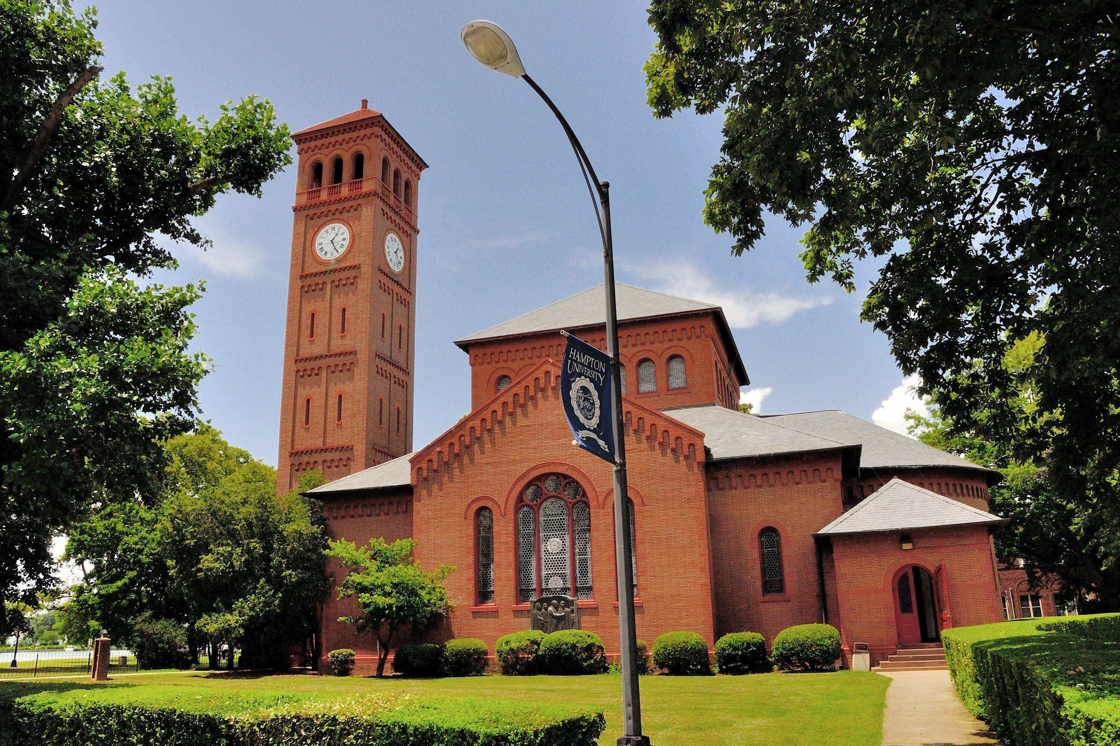 Iglesia Memorial en la Universidad de Hampton