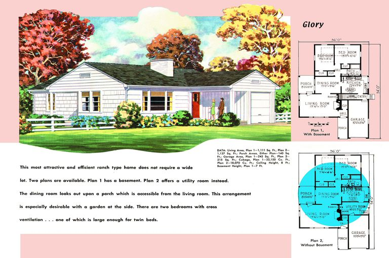 Ranch Homes - Plans for America in the 1950s on vintage bathroom designs, 1960s contemporary home designs, 1950 ranch home designs, grey and white bathroom tile designs, 1950 s designs, home floor plans and designs, 2015 car designs, 1950 bathroom designs, 1950 tattoo designs,