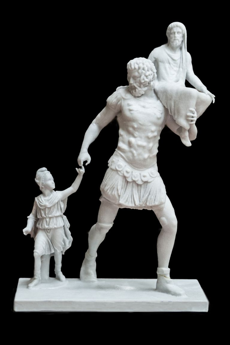 Aeneas and children