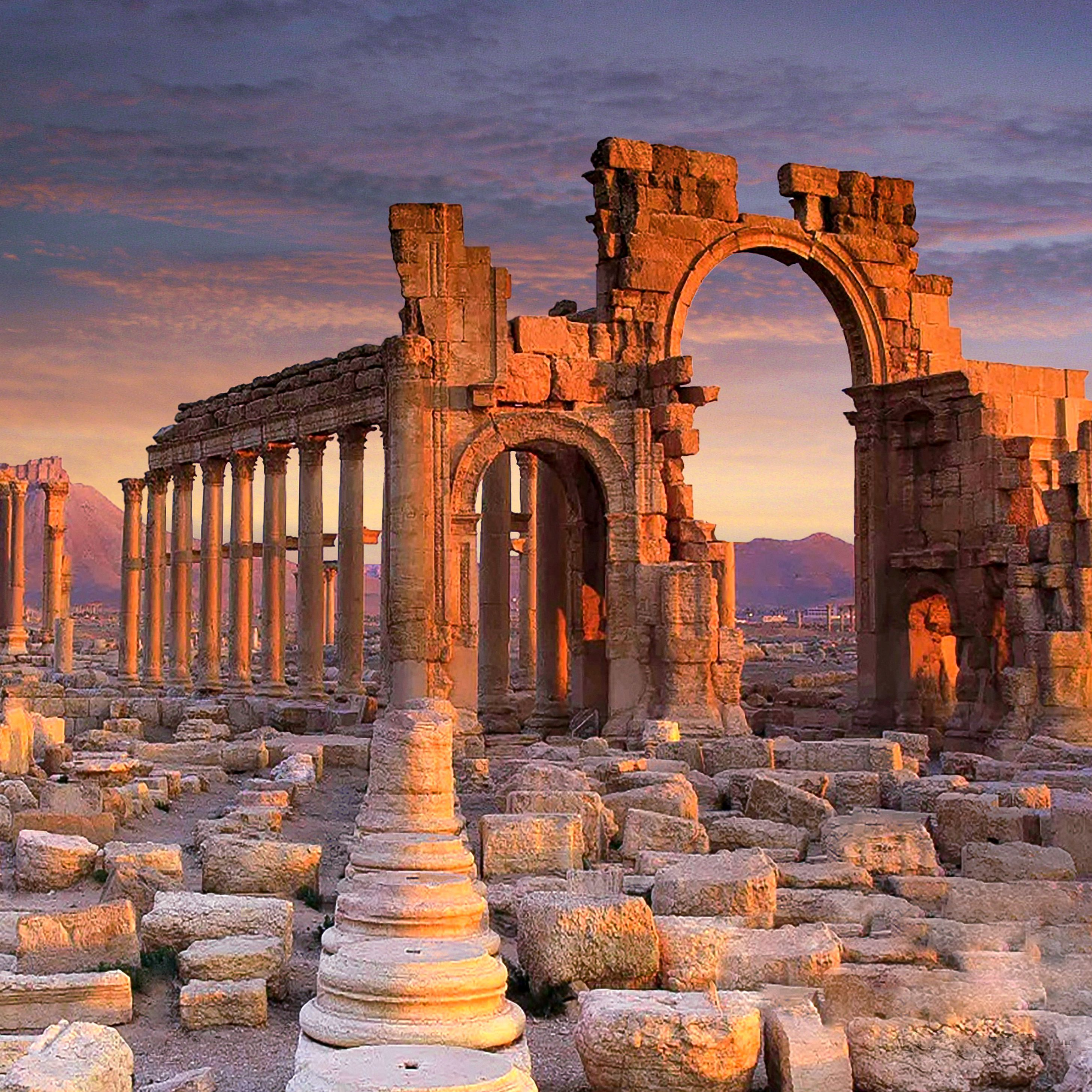 Who Cares About the Ancient Ruins in Palmyra, Syria?