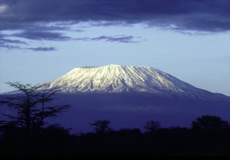 mt. kilimanjaro, at dawn, tanzania