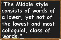 middle style