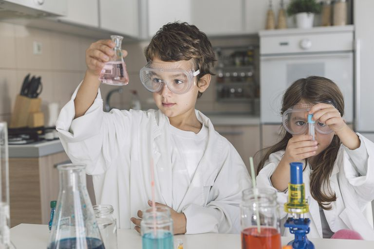 There are many interesting science experiments kids can do using kitchen ingredients.