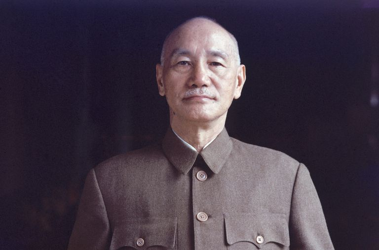 Portrait of Kai-Shek Chiang