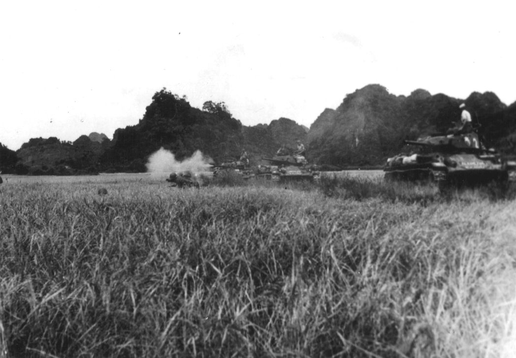 M24 Chaffees at Dien Bien Phu