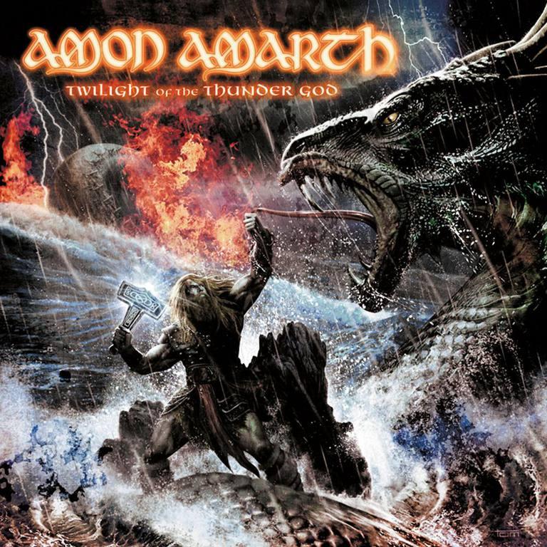 Amon Amarth - Twilight of the Thunder God