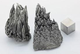 Yttrium is a silvery rare earth metal.