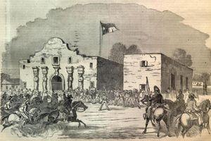 Fighting at the Alamo