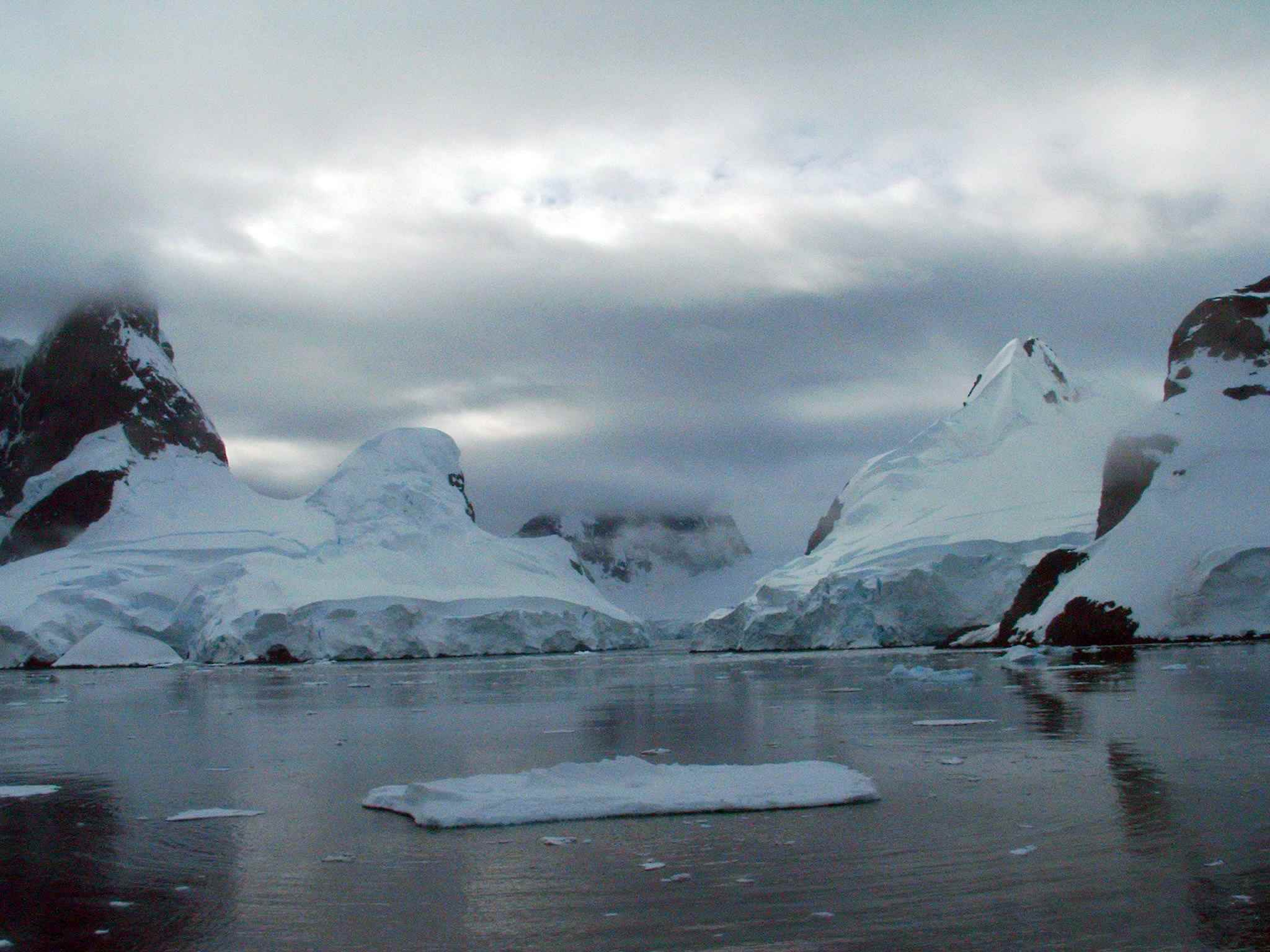Lemaire Channel in Antarctica