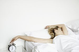 college student oversleeping