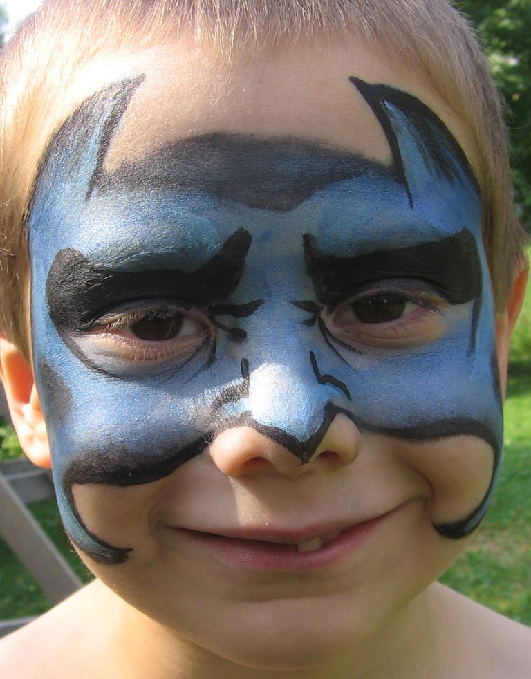 Face Painting Designs Bat