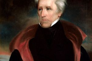 Portrait of Andrew Jackson, the seventh president of the United States by Ralph E. W. Earl