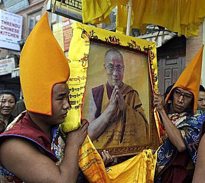 Dalai Lama Thangka