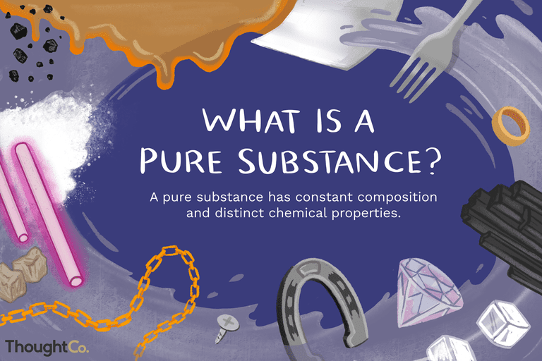 Pure Substance Definition And Examples