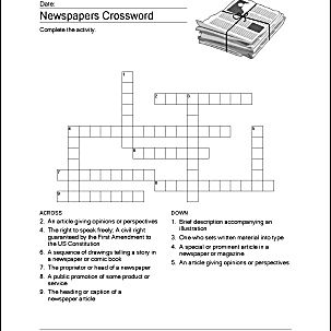 This is a photo of Obsessed Newspaper Crosswords Printable