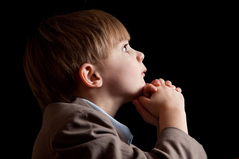 Teaching Children to Pray