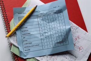 A failing report card