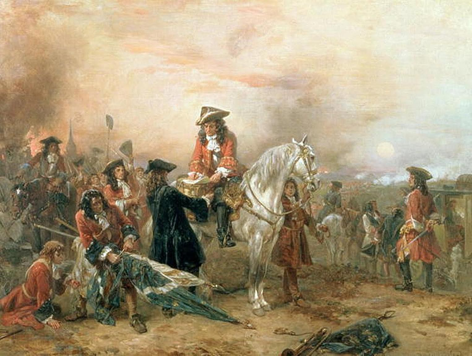 1600s & 1700s Military History Timeline