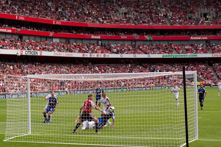 A match at Santiago Bernabeu, the Real Madrid stadium
