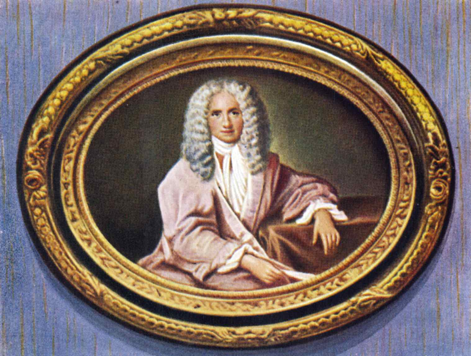 Voltaire. Portrait of the French writer and philosopher. Born as François-Marie Arouet.