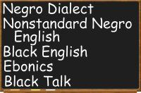 non standard varieties of english