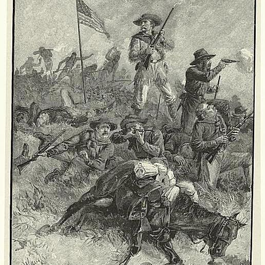 Custer's Last Fight by Alfred Waud