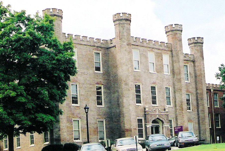 Wesleyan Hall at the University of North Alabama