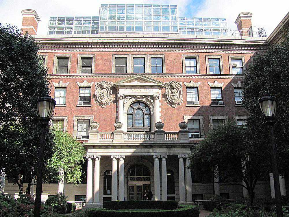 Milbank Hall at Barnard College