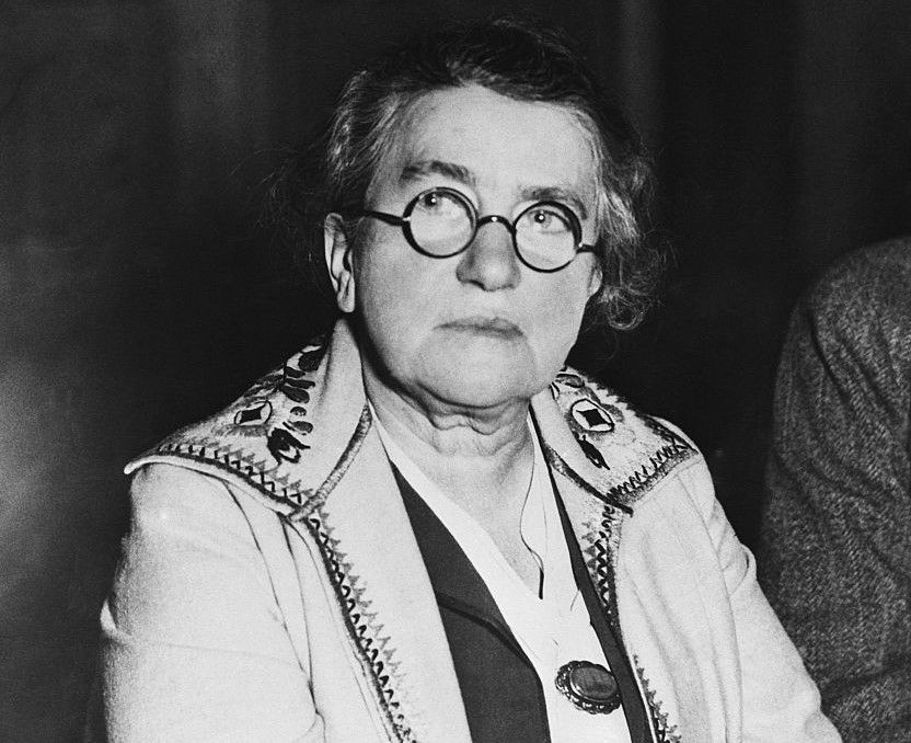Famous Russian revolutionary Emma Goldman.