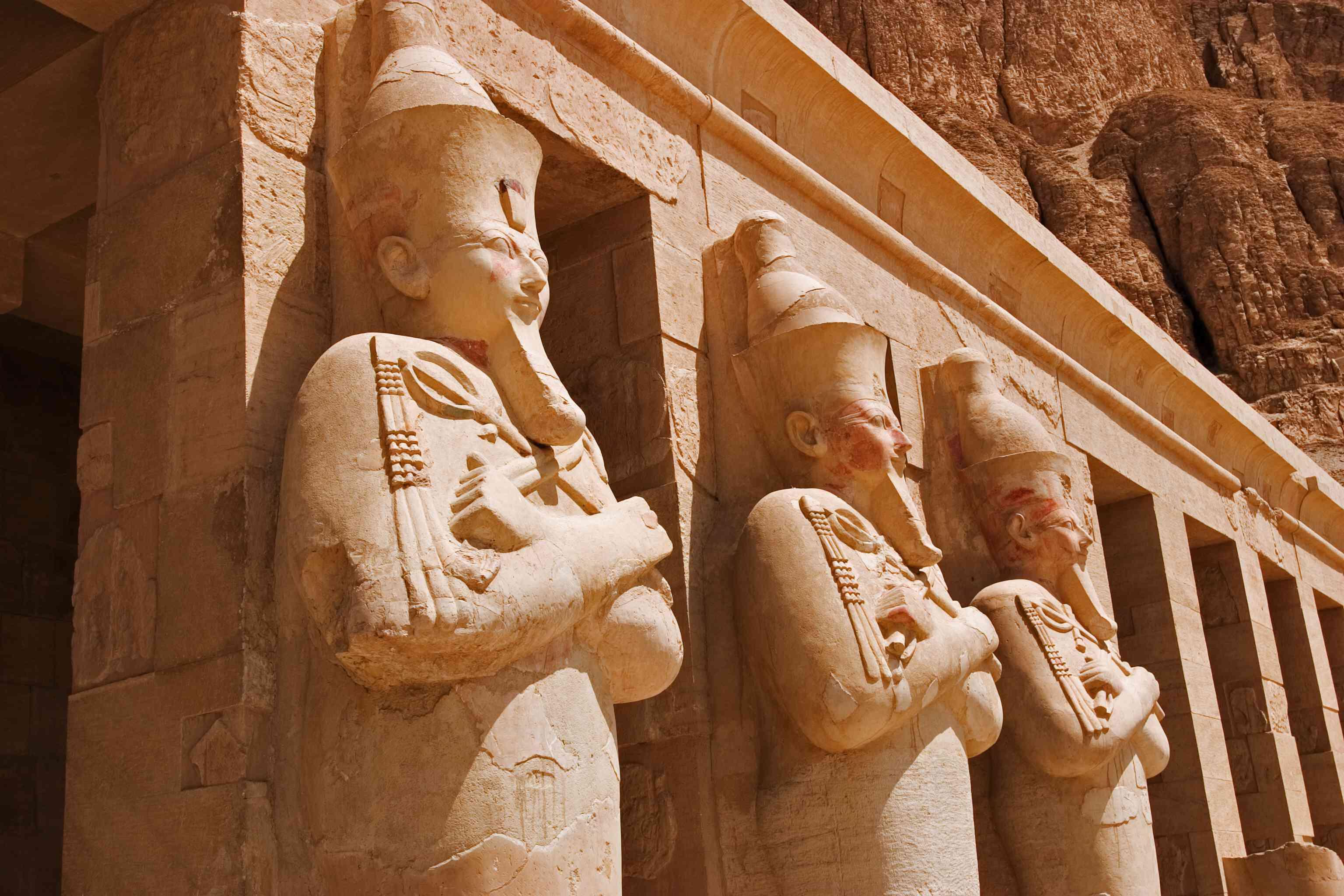 Queen Hatshepsut as Osiris